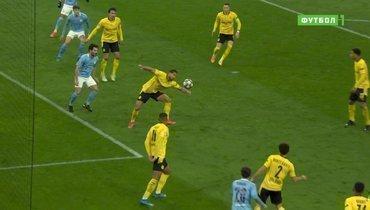 «Боруссия» Д— «Манчестер Сити»: пенальти назначен правильно, Эмре Джан сыграл рукой