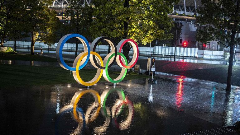 Генсек правящей партии Японии допустил отмену Олимпиады вТокио. Фото AFP