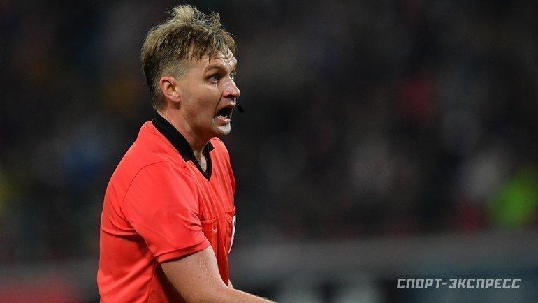 УЕФА отстранил арбитра Лапочкина. Что известно наданный момент
