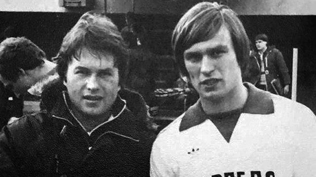 Александр Петров и Валерий Петраков. Фото из архива Александра Петрова