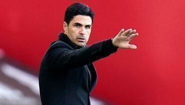 Артета остался доволен игрой «Арсенала» против «Славии»