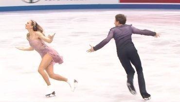 Уроссийской танцорши разошлось платье вовремя проката начемпионате мира: видео
