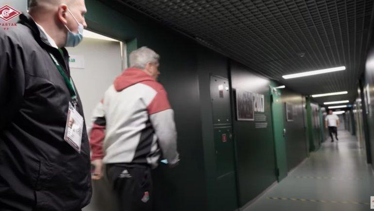 Станислав Сухина навидео «Спартак-ТВ».