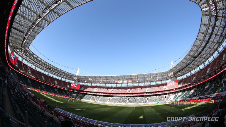 Стадион «Локомотив». Фото Александр Федоров, «СЭ» / Canon EOS-1D X Mark II