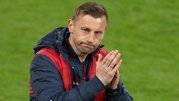 ЦСКА показал, что осталось закадром съемок сглавным тренером