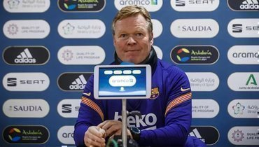 Куман рассказал, сможетли Пике принять участие вфинале Кубка Испании