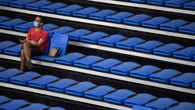 Болельщик набаскетбольном матче. Фото AFP