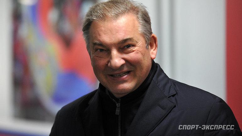 Владислав Третьяк. Фото Алексей Иванов, «СЭ»