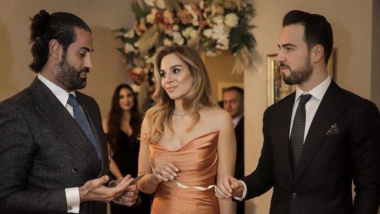 Свадьба Мелиха Махмутоглу иДамле Чакироглу. Фото Instagram