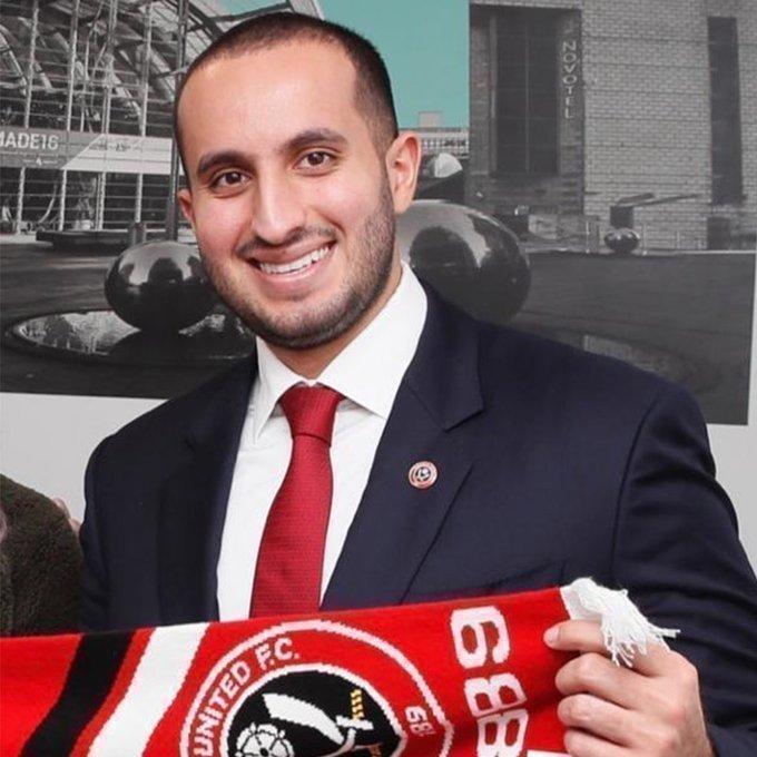 Мусаад бен Халид Аль Сауд. Фото ФК «Шеффилд Юнайтед».