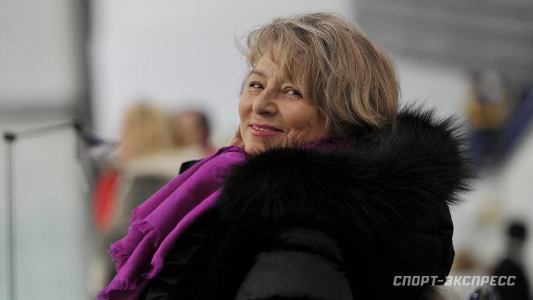 Татьяна Тарасова. Фото Александр Федоров., «СЭ»