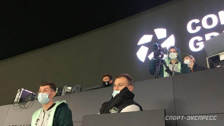 Василий Березуцкий наматче «Краснодар»— «Зенит». Фото «СЭ»