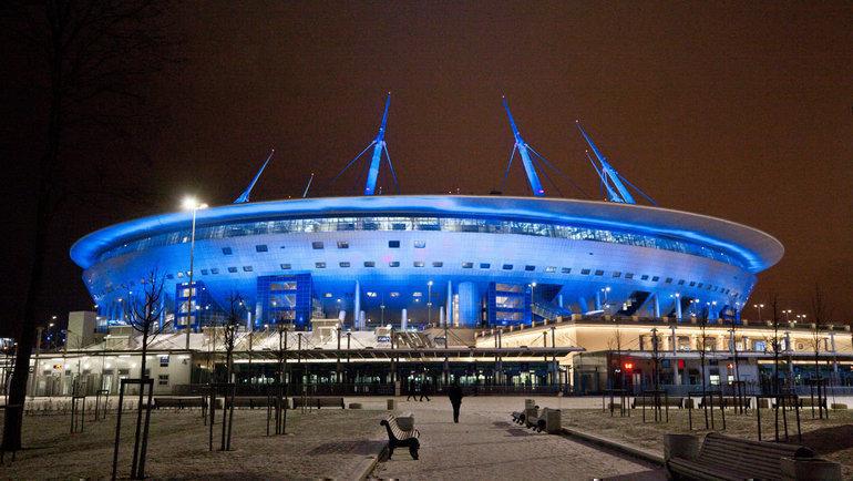 «Газпром-Арена». Фото ФК «Зенит»