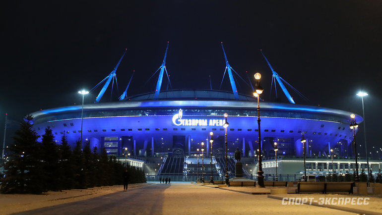 «Газпром-Арена». Фото Александр Федоров, «СЭ» / Canon EOS-1D X Mark II