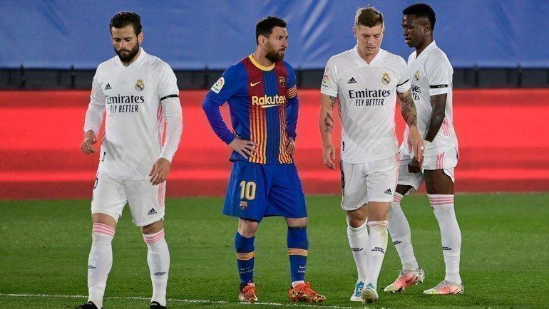 «Реал» и «Барселону» называют вчисле клубов— создателей суперлиги. Фото AFP
