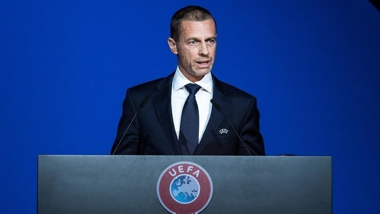 Александер Чеферин. Фото uefa.com