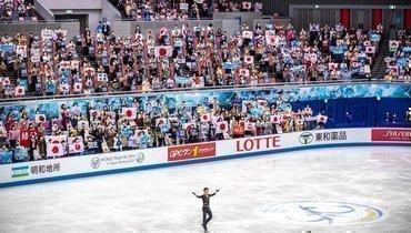 Выступление Юдзуру Ханю накомандном чемпионате мира.