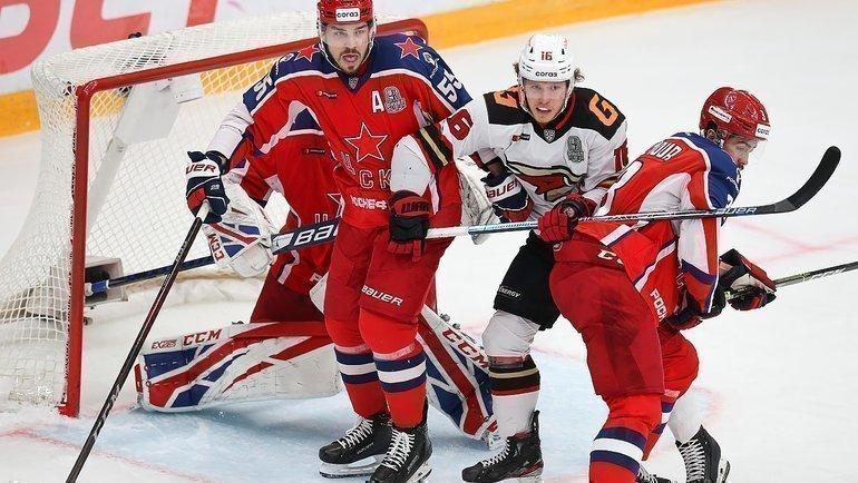 ЦСКА и «Авангард» проведут второй матч финала Кубка Гагарина. Фото ХКЦСКА