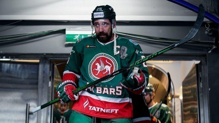 Данис Зарипов. Фото ХК «АкБарс»