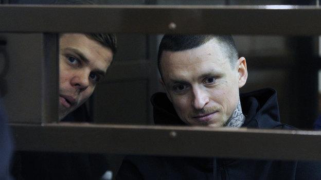 """Александр Кокорин и Павел Мамаев. Фото Александр Федоров, """"СЭ"""""""