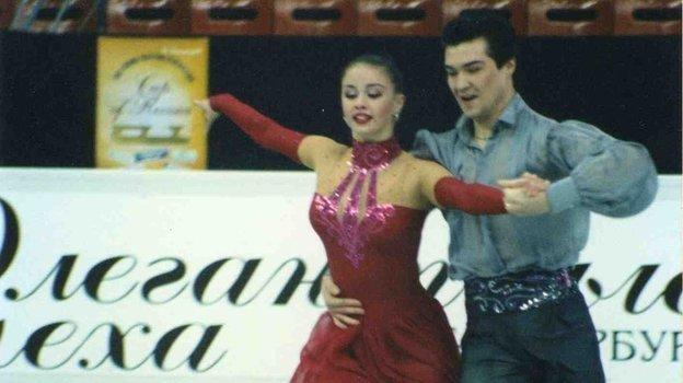Анна Семенович и Роман Костомаров. Фото из личного архива Анны Семенович