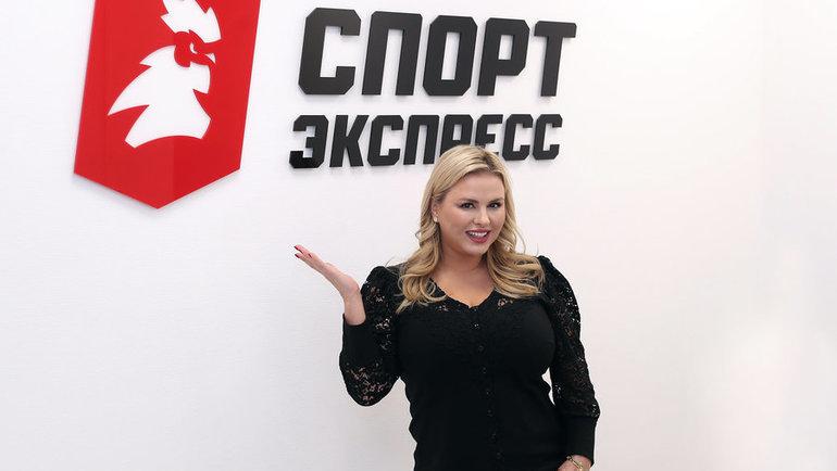 Анна Семенович вредакции «Спорт-Экспресс». Фото Федор Успенский, «СЭ» / Canon EOS-1D X Mark II