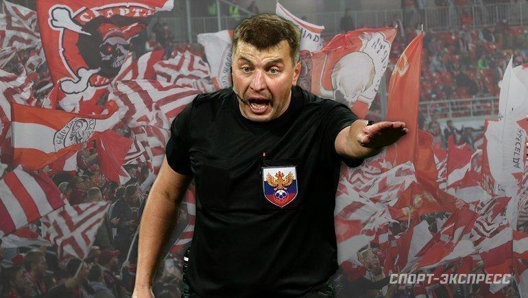 Михаил Вилков пожизненно отстранен отработы наматчах вРоссии. Фото «СЭ»