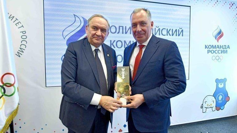 Рабочая встреча президента ОКР Станислава Позднякова сделегацией Национального олимпийского комитета Польши.