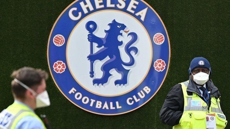 Эмблема «Челси». Фото AFP