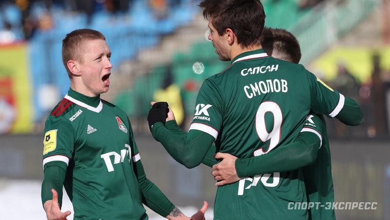 Максим Мухин (слева) иФедор Смолов. Фото Александр Федоров, «СЭ»