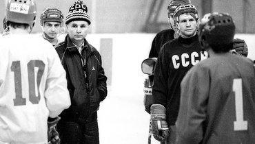1988 год. Андрей Хомутов, Виктор Тихонов иВладимир Константинов.