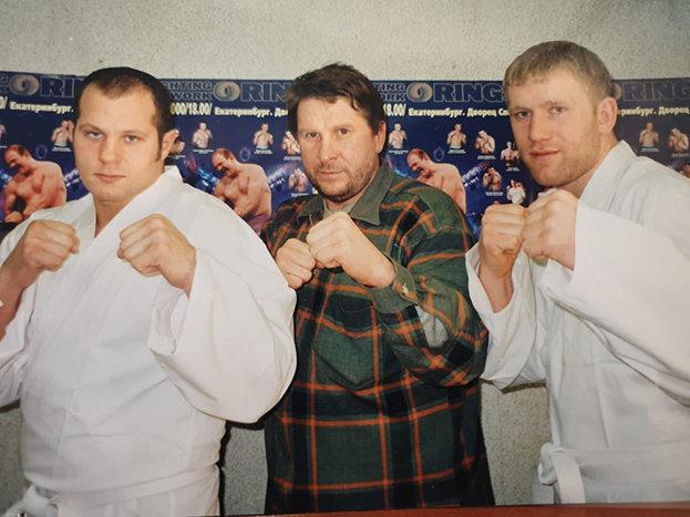 Федор Емельяненко, Николай Зуев, Сергей Харитонов (слева направо). Фото изличного архива Николая Зуева