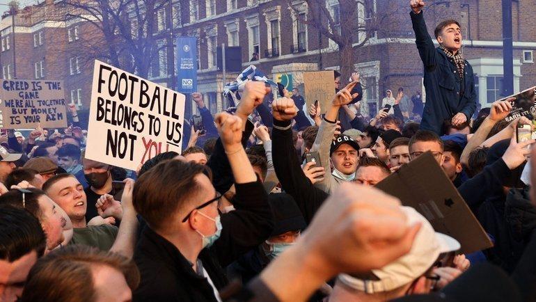 «Футбол принадлежит болельщикам больше, чем когда-либо». Реакция игроков итоп-клубов наотмену Суперлиги