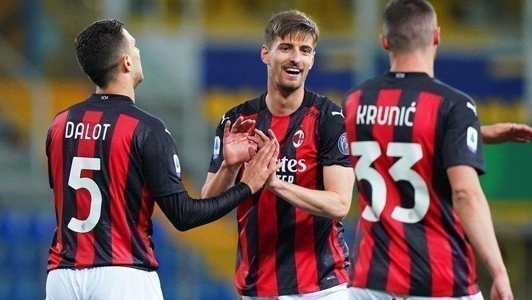 Игроки «Милана». Фото ФК «Милан»