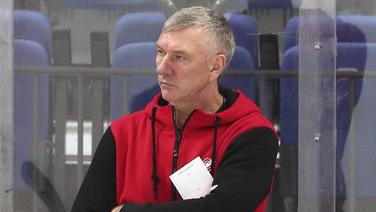 Владимир Федосов. Фото ХК «Спартак»
