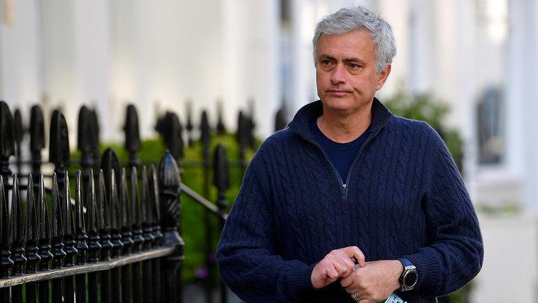Жозе Моуринью. Фото Reuters
