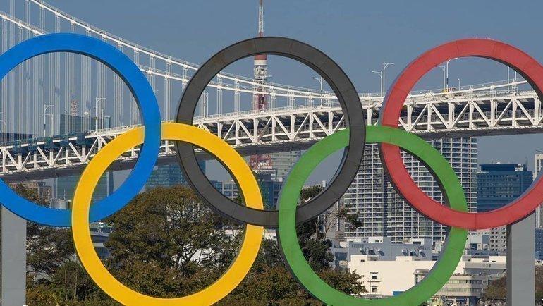 Олимпийские кольца вТокио. Фото instagram.com/tokyo2020