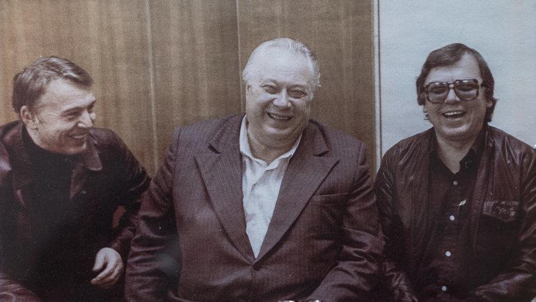 Владимир Перетурин, Николай Озеров иЯнСадеков.. Фото изличного архива
