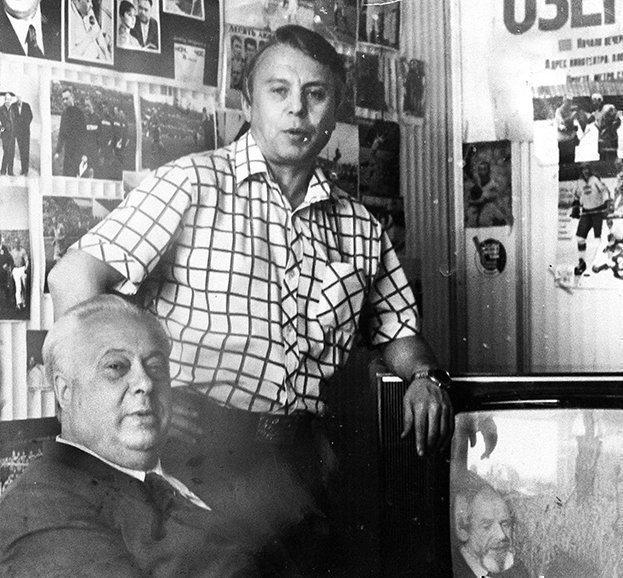 Николай Озеров иВладимир Перетурин. Фото изличного архива