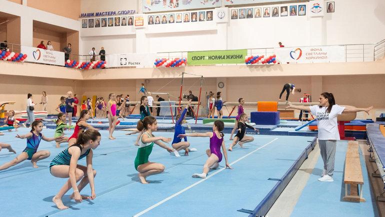 ВБелгороде проходят 22-е традиционные Всероссийские соревнования поспортивной гимнастике. Фото Наталья Детянцева