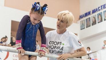 Светлана Хоркина (справа).