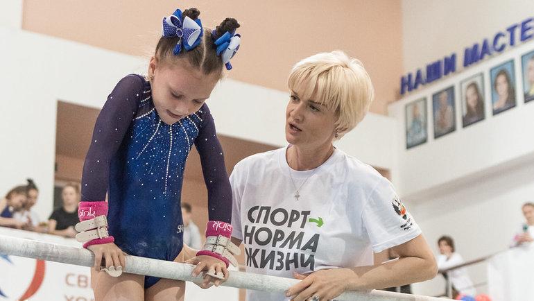Светлана Хоркина (справа). Фото Наталья Детянцева