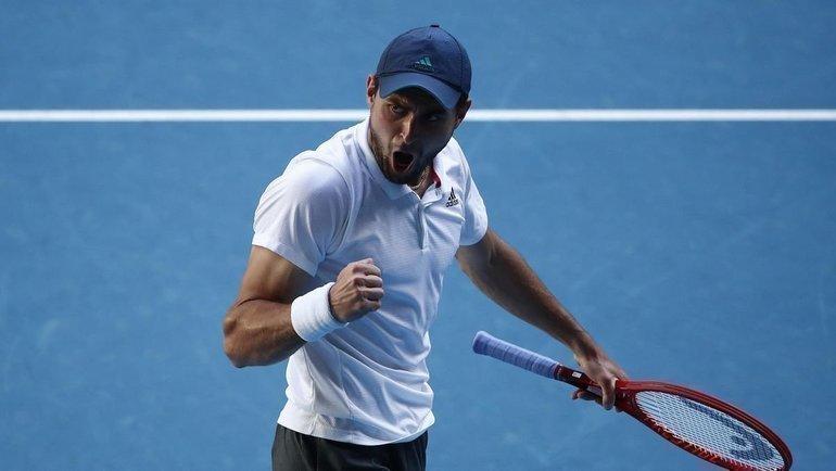 Аслан Карацев. Фото Australian Open