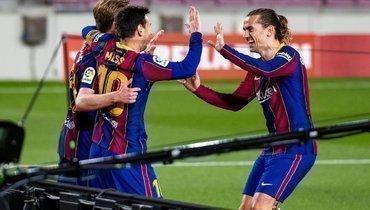 Дубль Месси помог «Барселоне» обыграть «Хетафе»