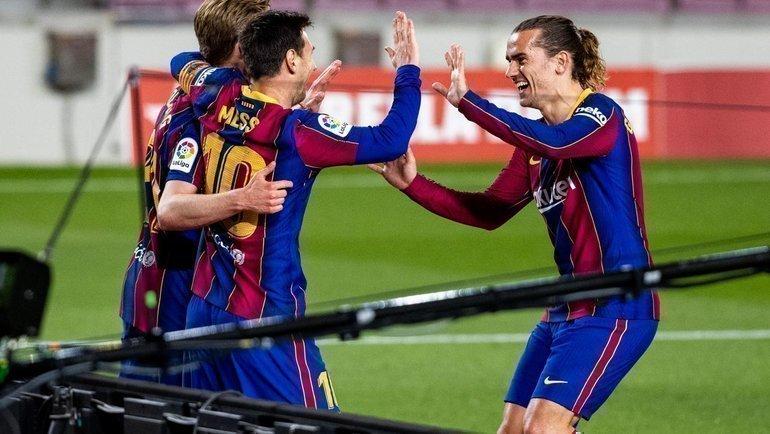 22 апреля. «Барселона» — «Хетафе» — 5:2. Фото Twitter