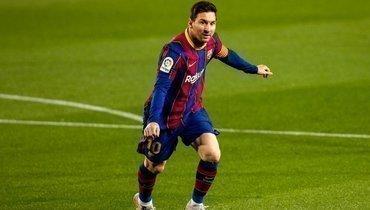 УМесси очередной великий рекорд. Аргентинец ведет «Барселону» зазолотым дублем