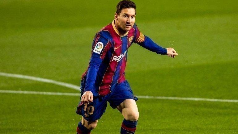 22апреля. «Барселона»— «Хетафе»— 5:2. Лионель Месси. Фото Twitter