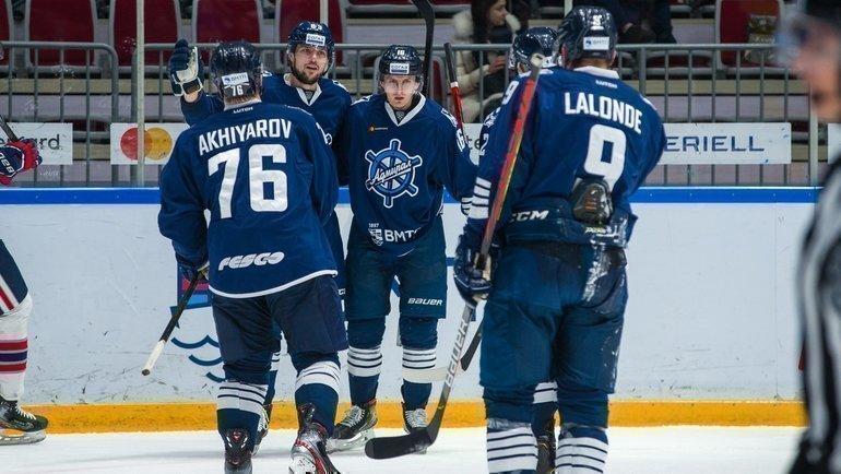 «Адмирал» возвращается вКХЛ. Фото ХК «Адмирал»