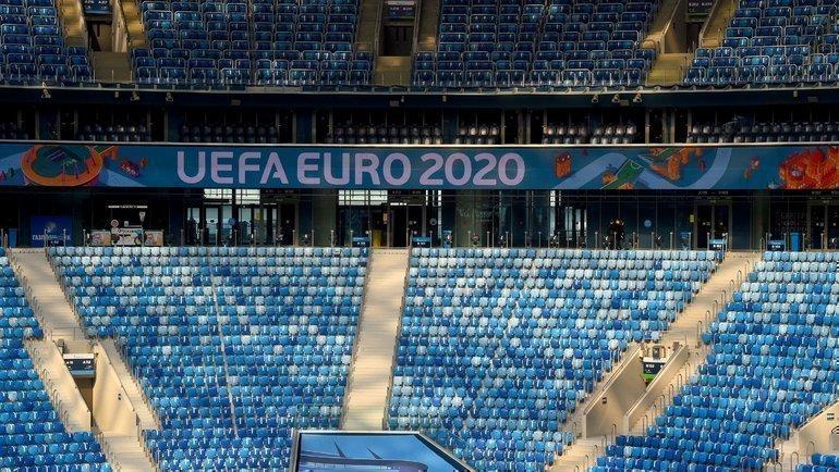 Стадион вСанкт-Петербурге. Фото Reuters
