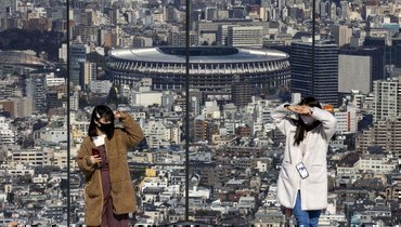 Вид наНациональный олимпийский стадион. Фото AFP